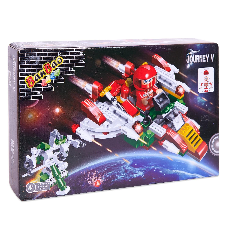 Конструктор Banbao Космический летательный аппарат конструктор banbao космический летательный аппарат 237 дет red 6407 52940
