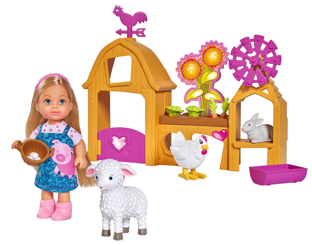 Кукла simba Еви. Счастливая ферма
