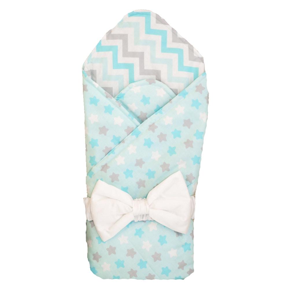 Одеяло на выписку Арго Звездочка аксессуары для колясок арго одеяло меховое на выписку арго из шитья голубое