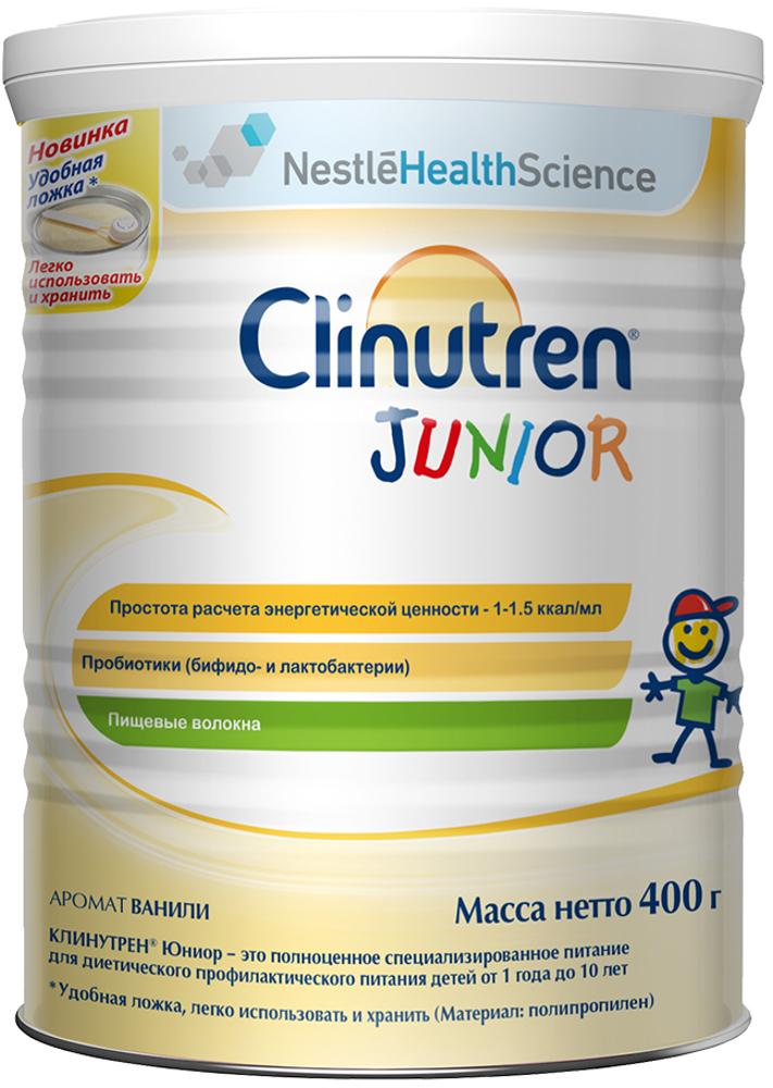 Сухие Clinutren Nestle Clinutren Junior с 12 мес. 400 г nestle смесь молочная nestle nan нан кисломолочный 1 400 г с 0 6 мес