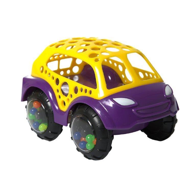 Машинки для малышей Baby Trend Машинка-неразбивайка Baby Trend желто-фиолетовая x trend