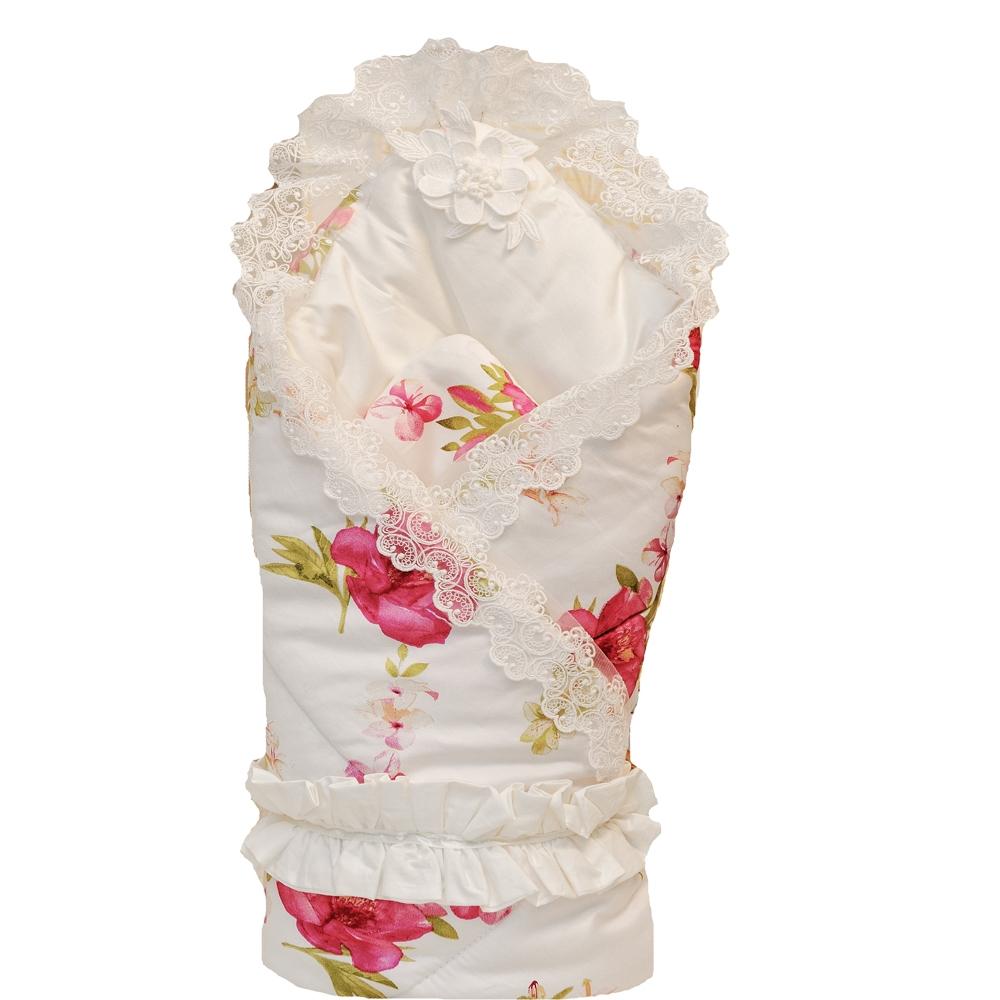 Одеяло на выписку Арго Amelie конверт на выписку супермамкет justcute совы зима флис бант