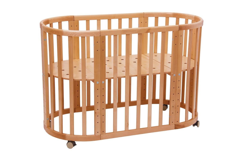 Купить Кроватки детские, Simple 910, 1шт., Polini 0003053-01, Россия, бук