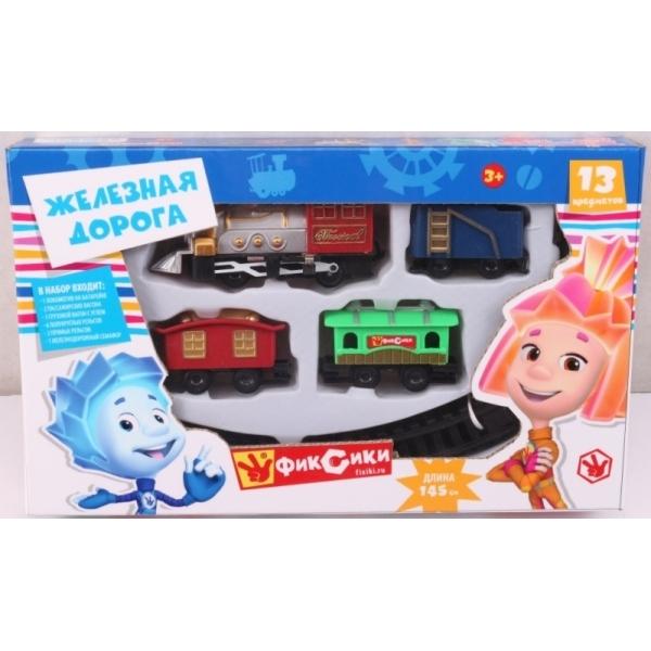 Наборы игрушечных железных дорог, локомотивы, вагоны Играем вместе Фиксики железная дорога играем вместе железная дорога заводная фиксики с 3 х лет b1279625 r