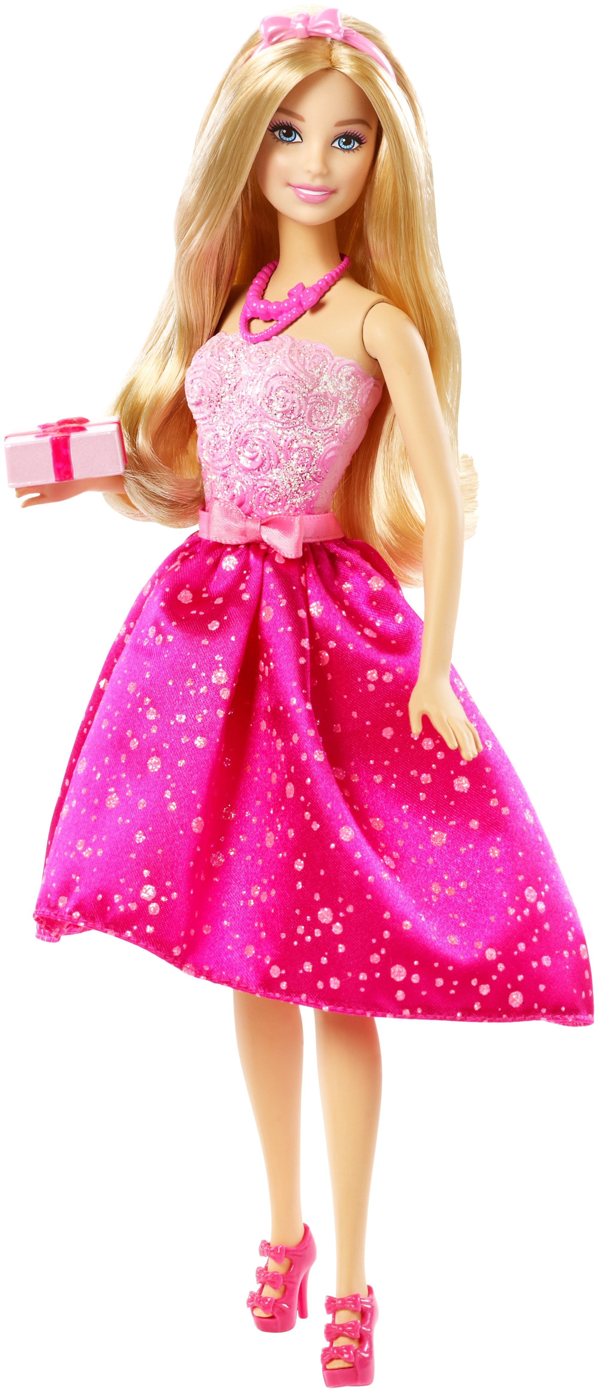 Кукла Barbie, Поздравление с днем рождения, 1шт., Barbie DHC37, Индонезия, Женский  - купить со скидкой