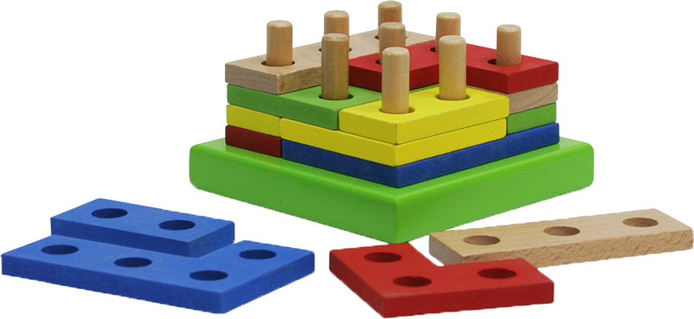 Деревянные игрушки Фабрика Фантазий Фигуры деревянные игрушки фабрика фантазий шнуровка 49241