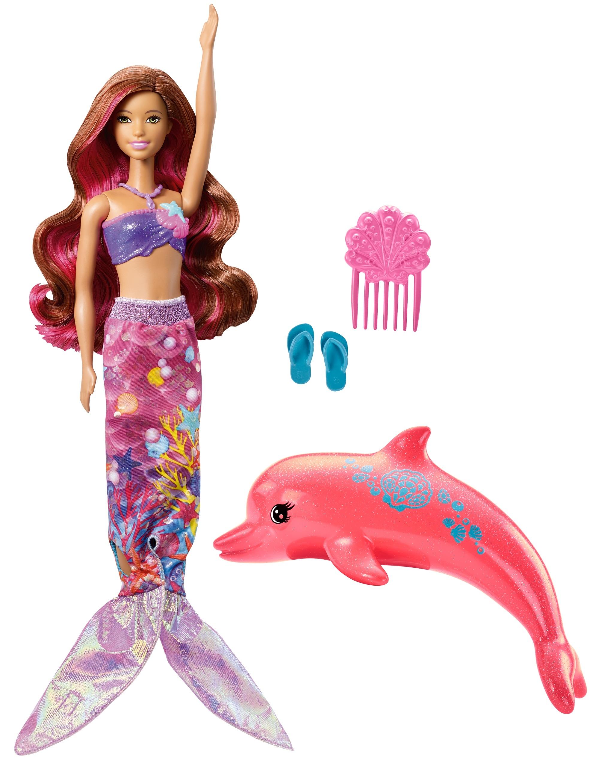 Barbie Barbie Кукла-трансформер Barbie «Морские приключения» кукла морские приключения barbie fbd73