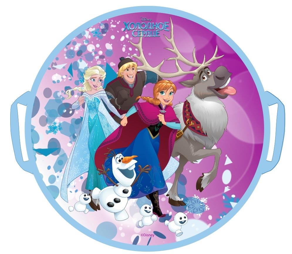 Ледянки Disney Ледянка Disney «Холодное Сердце» круглая 52 см 1toy ледянка 1toy disney холодное сердце 54см