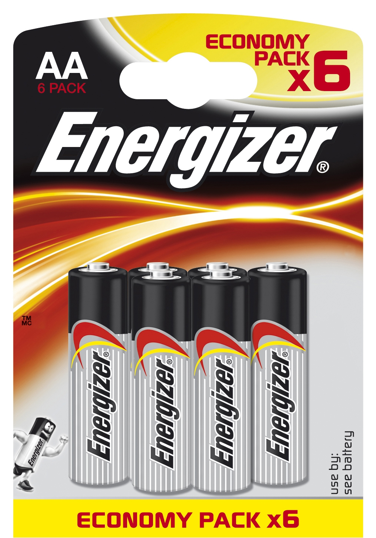 Элемент питания Energizer Classic AA 6 шт элемент питания energizer max aaa 2 шт