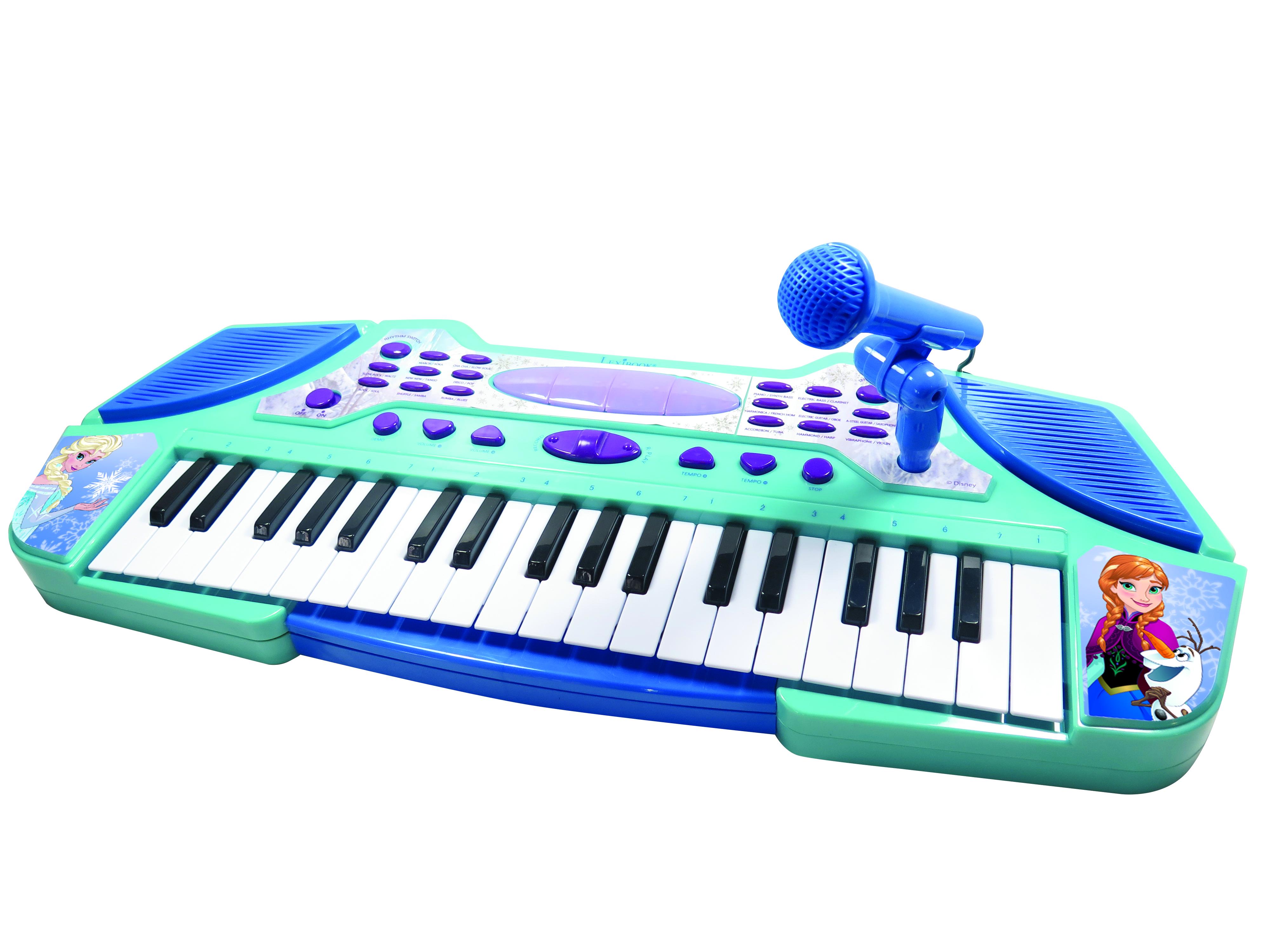 купить детский синтезатор с микрофоном