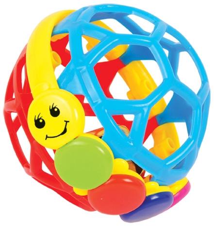 Погремушки FUN FOR KIDS Шарик-погремушка со звуком inflatable biggors commercial bounce house slide for kids jumping castle play amusment park for rental fun gift