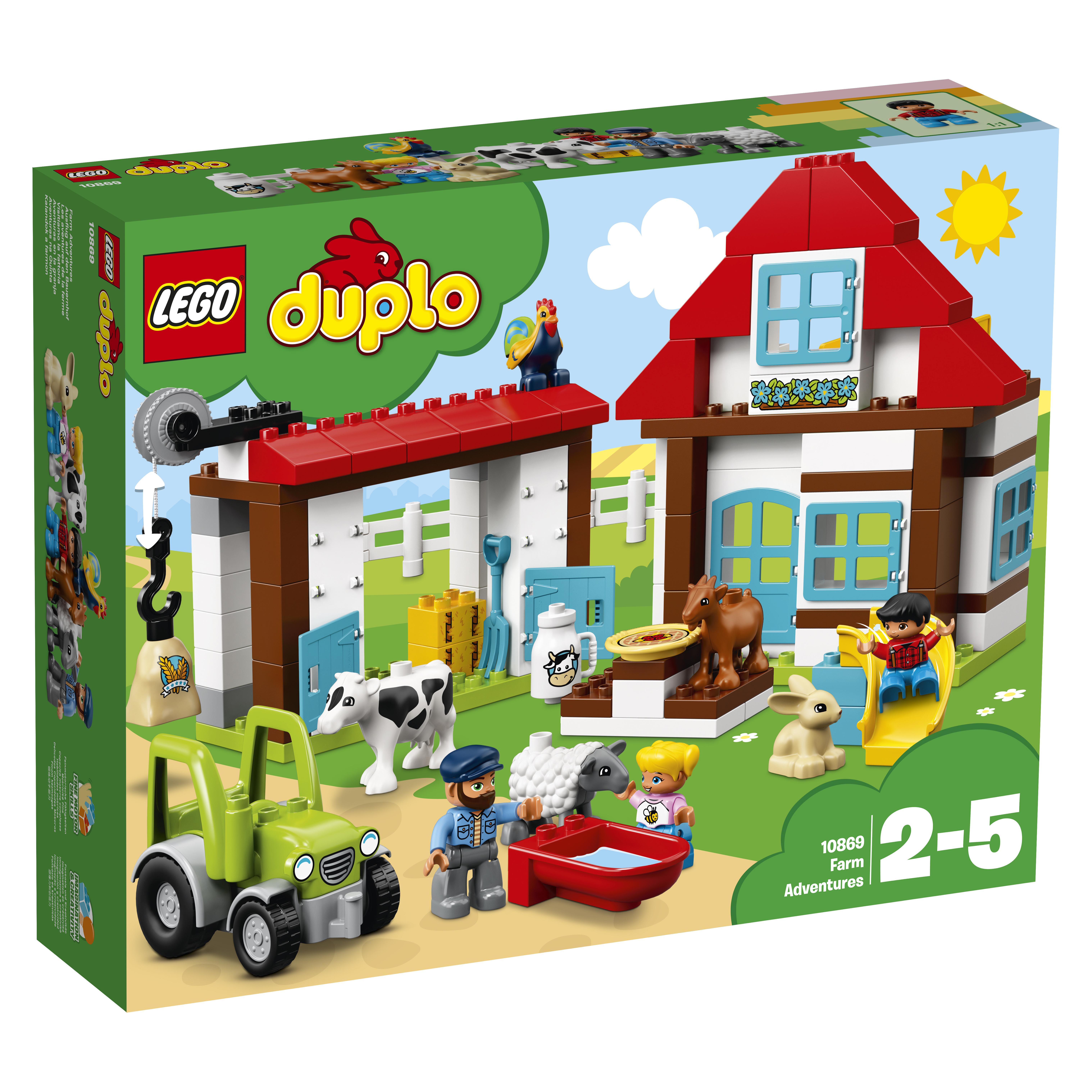 LEGO DUPLO LEGO DUPLO Town 10869 День на ферме