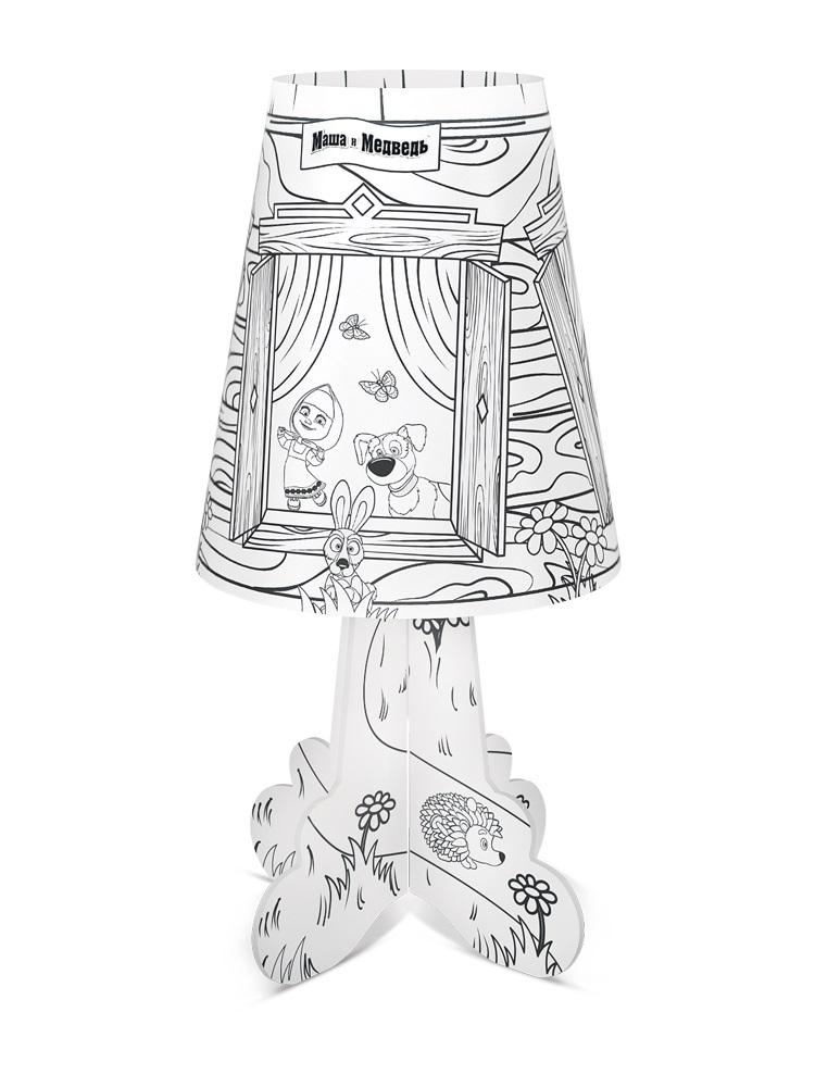 Фото - Светильник-раскраска Фотон «Маша и Медведь. Сказка-расскраска» DNM-07 ночник декоративный фотон маша и медведь маша и чтение dnm 01