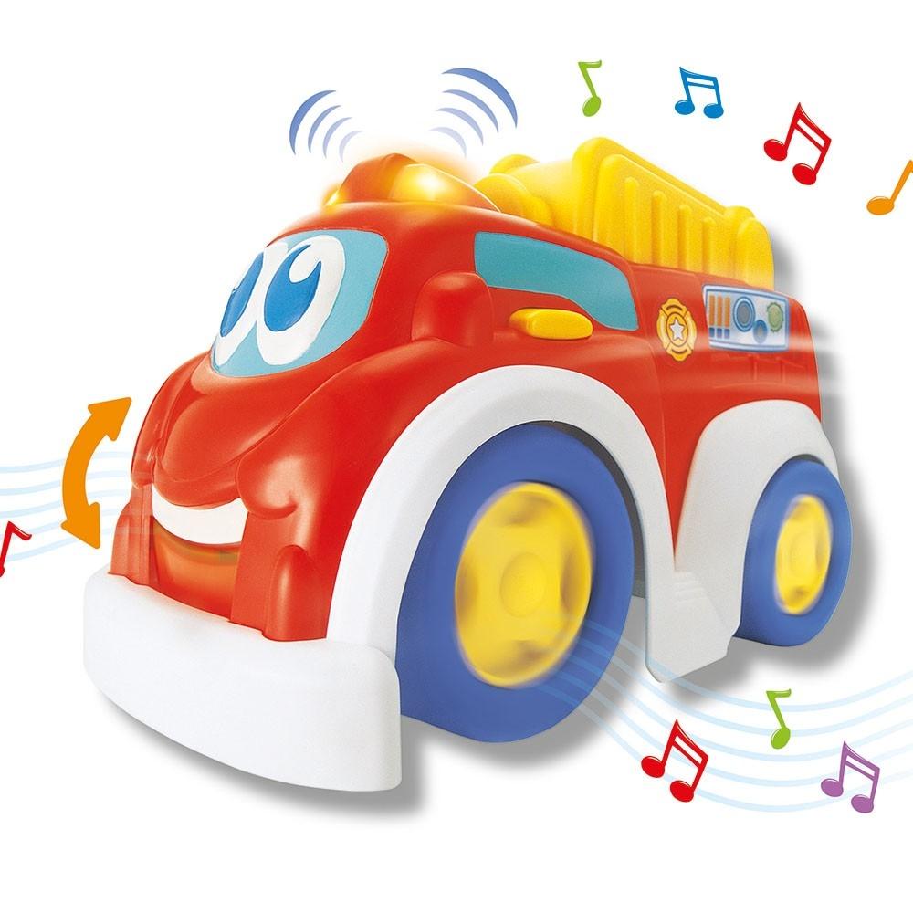 Игрушки-каталки Keenway Веселая машинка Keenway «Пожарная» красная машинки keenway машинка воротилы