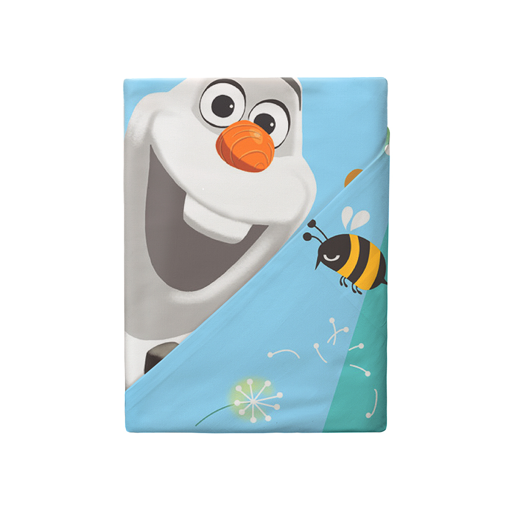 Постельные принадлежности Disney Холодное сердце. Олаф детское полутороспальное постельное белье disney холодное сердце олаф лето с наволочкой 70х70 180871