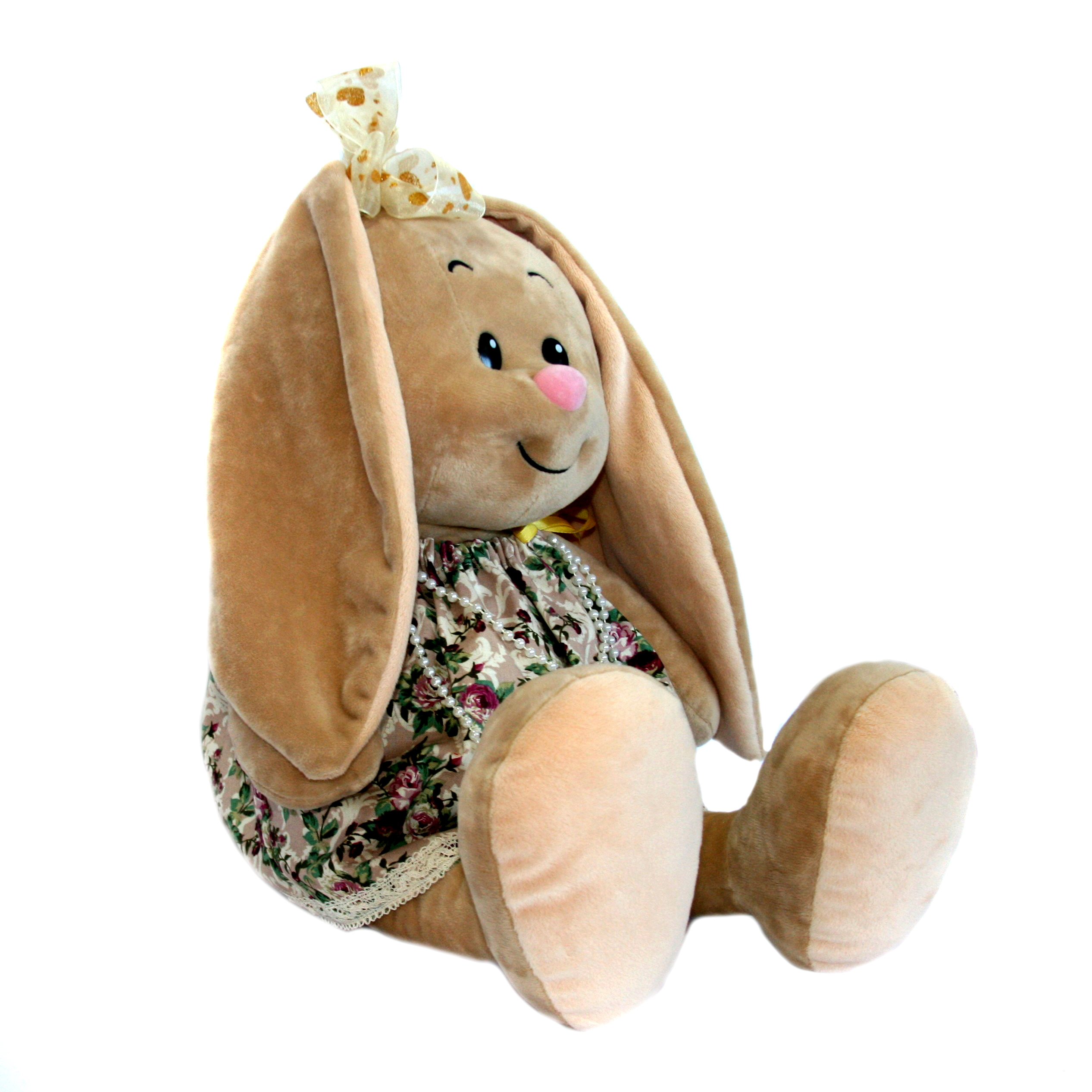 Мягкие игрушки СмолТойс «Зайка-милашка» 40 см мягкая игрушка смолтойс зайка даша 53 см