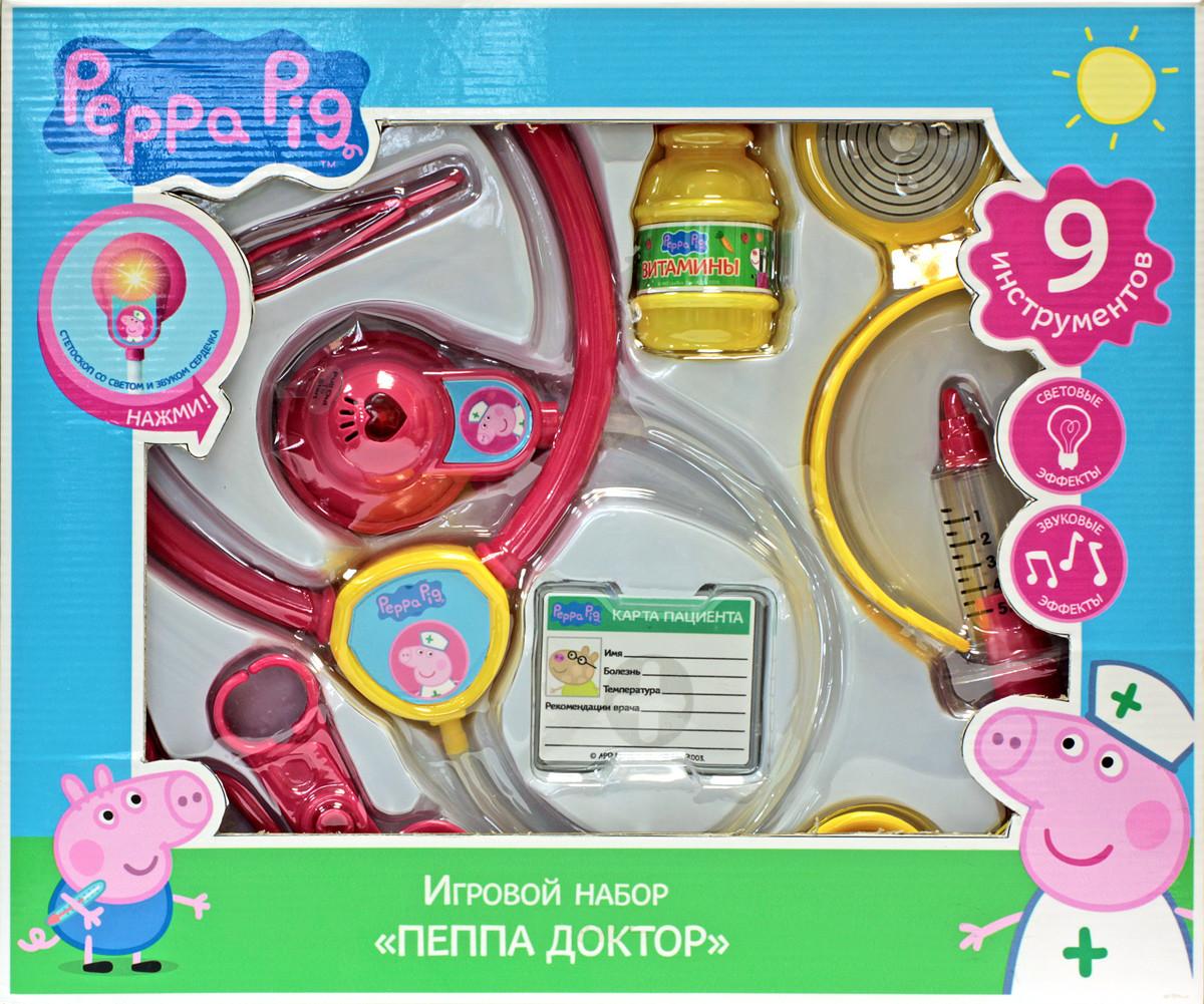 Игра развивающая Peppa Pig Пеппа доктор