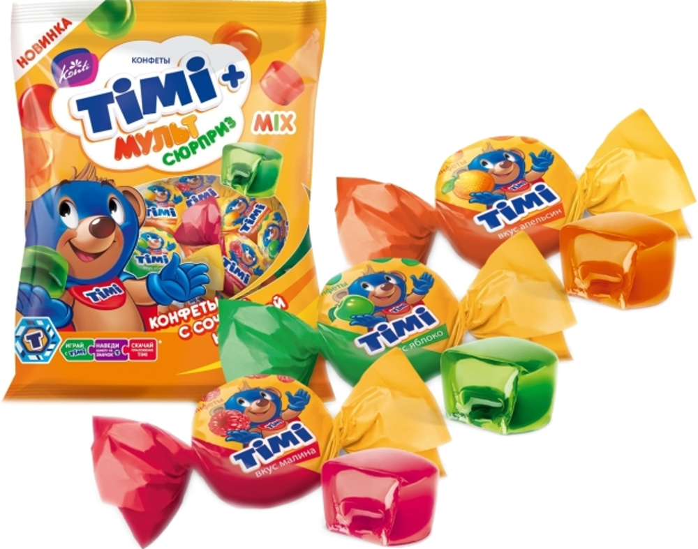 цены Конфеты Konti Konti «TIMI Mix» 20 г.