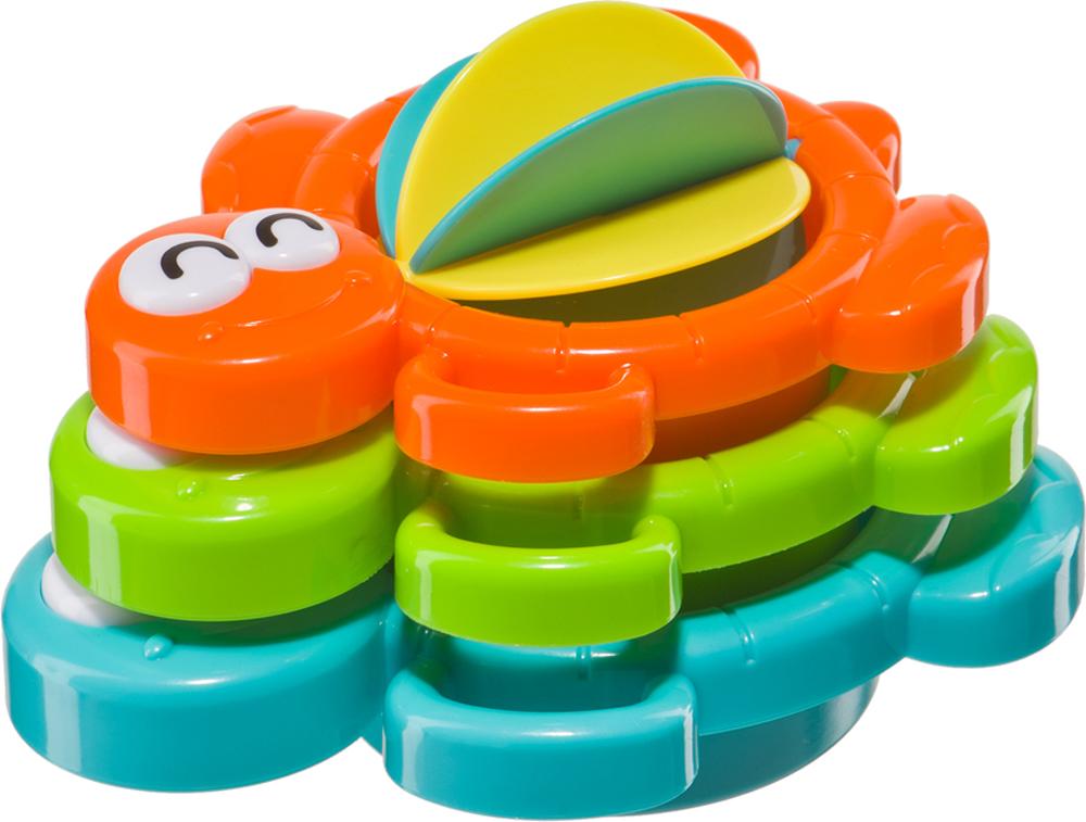 Игрушки для ванны Happy baby Aqua turtles игровой набор happy baby складные формочки aqua turtles для ванной