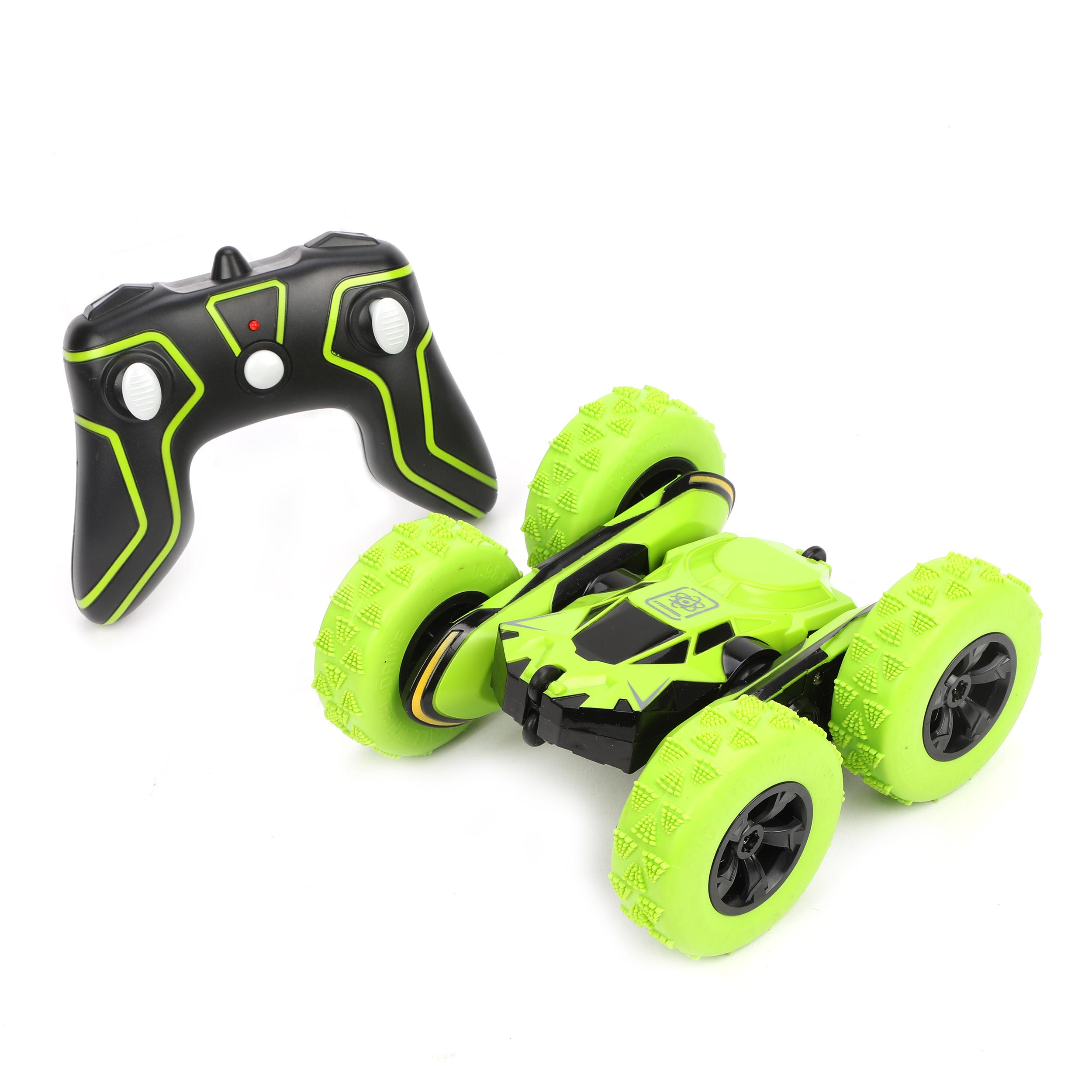 Машина на радиоуправлении Наша игрушка зеленый 4 канала 1:28 инерционная машинка наша игрушка машина 1 34 цвет в ассортименте м6097110329