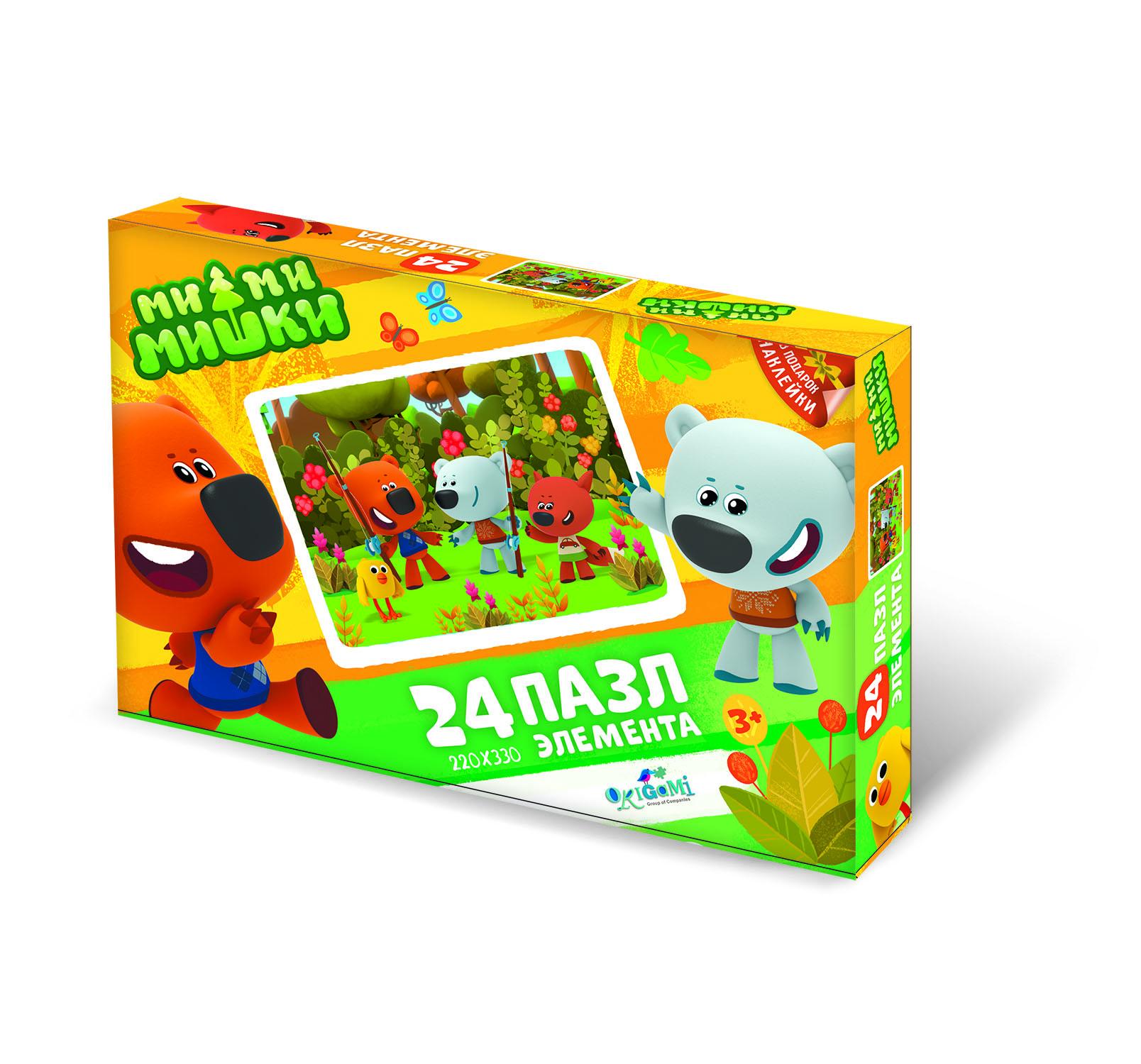 Пазл Origami МиМиМишки. Богатый улов, 24 эл. цена