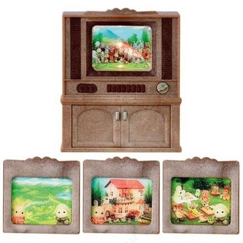 Набор SYLVANIAN FAMILIES Цветной телевизор телевизор для кухни