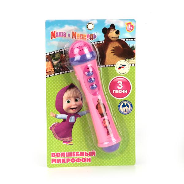 микрофон Умка Маша и Медведь стоимость