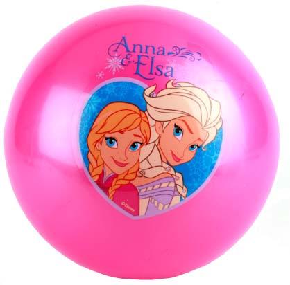Мяч Играем вместе Холодное сердце розовый