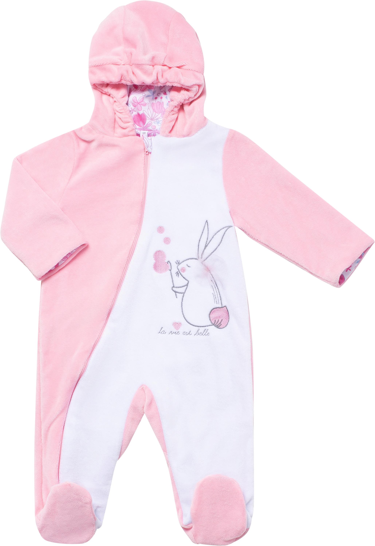 Комбинезон для девочки Barkito Мыльные пузыри розовый