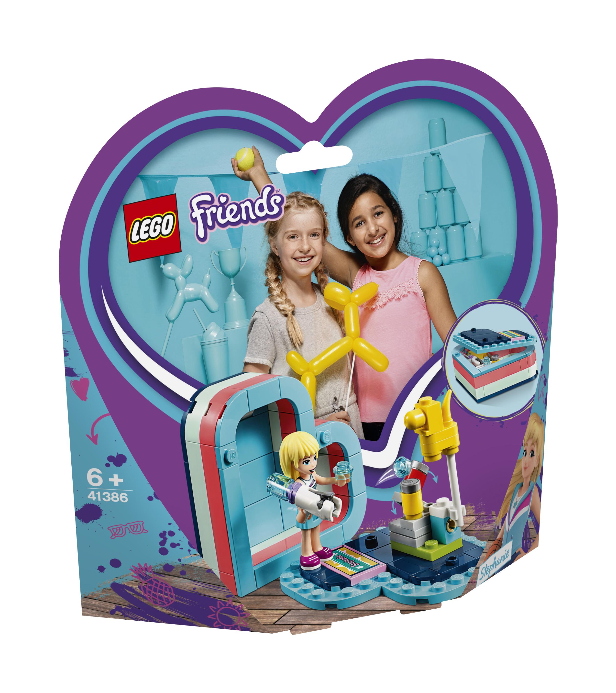 Конструктор LEGO Friends 41386 Летняя шкатулка-сердечко для Стефани конструктор lego friends 41338 спортивная арена для стефани