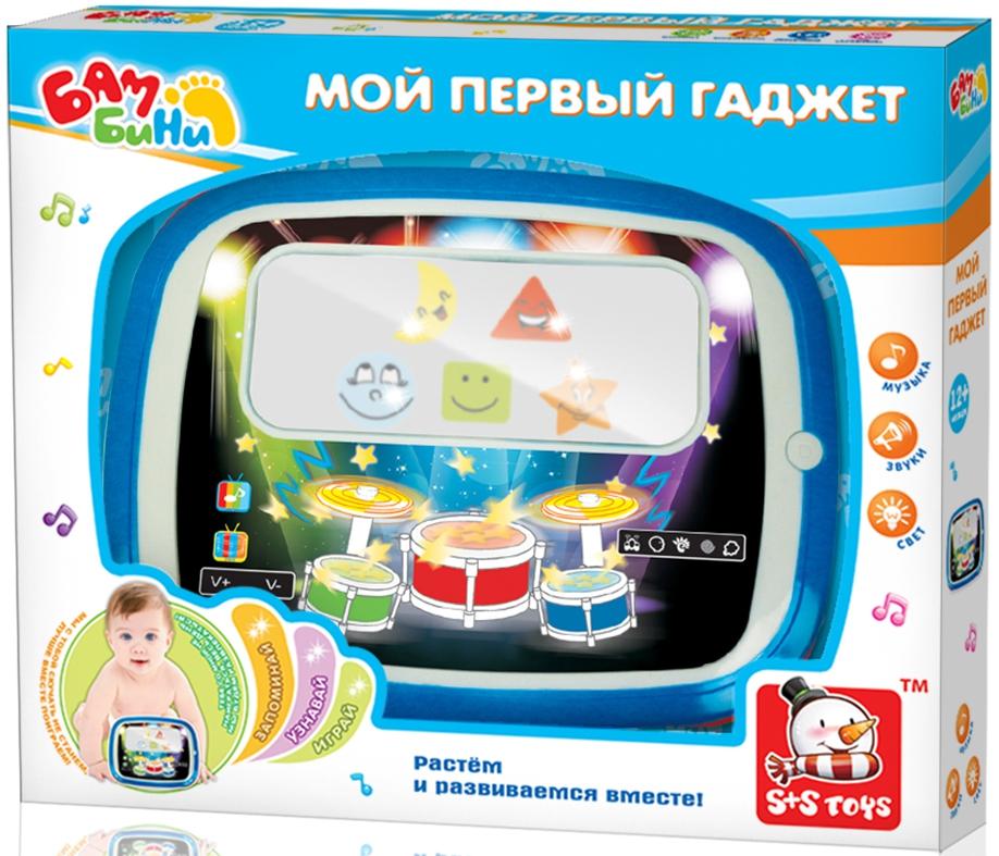 Интерактивная игрушка S+S TOYS Планшет Бамбини планшет выключился и не включается