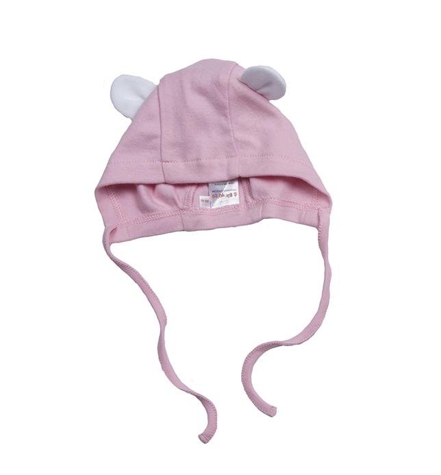 шапочки и чепчики Чепчики BARQUITO Кролик для девочки Barquito розовая