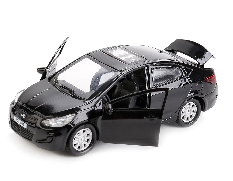 Машинки и мотоциклы Технопарк Hyundai Solaris 12 см технопарк машинка инерционная hyundai solaris solaris mix