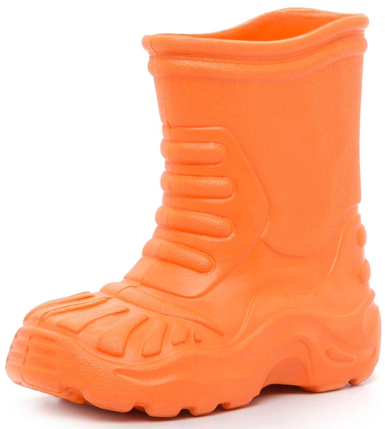 Купить Резиновые сапоги, Сапоги для девочки Barkito, оранжевые, Китай, оранжевый, Женский
