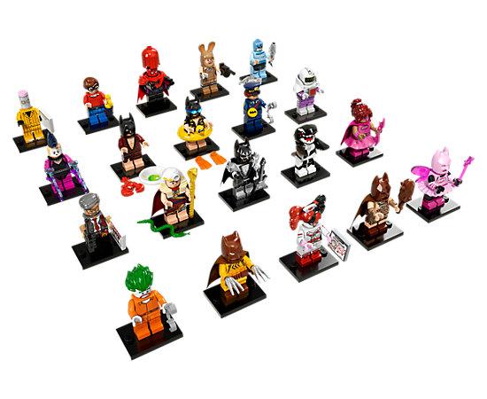 Конструктор LEGO Minifigures 71017 Серия Фильм Бэтмен детское лего lele brinquedo minifigures 79058