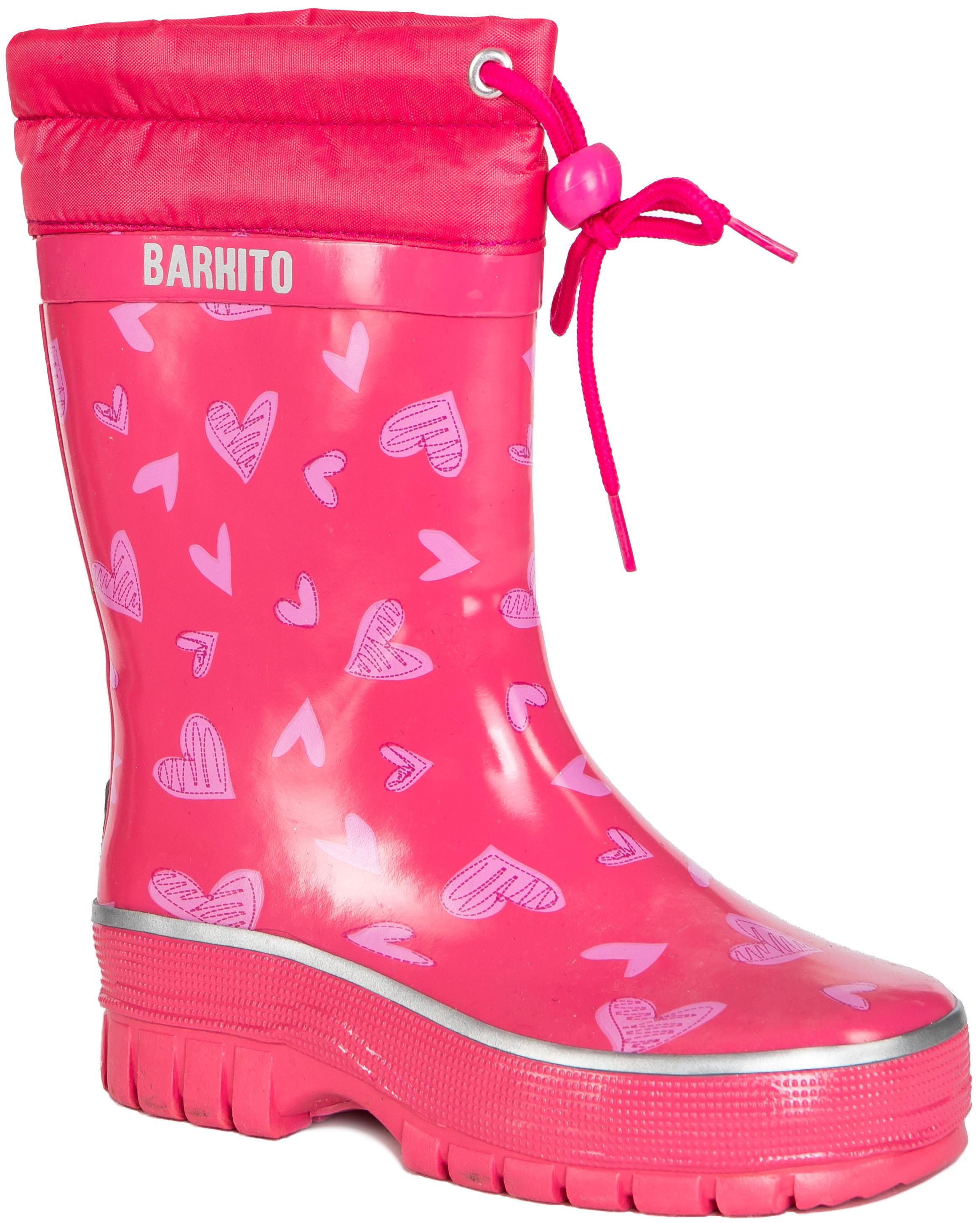 Купить Резиновые сапоги, KRS18205-2, Barkito, Китай, pink, Женский
