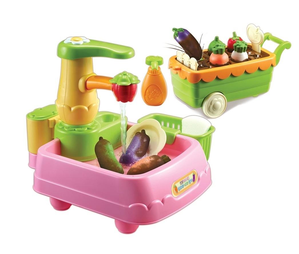 Аксессуары Консуни Игровой набор Консуни «Время готовить: Чистые овощи» 11 пред.