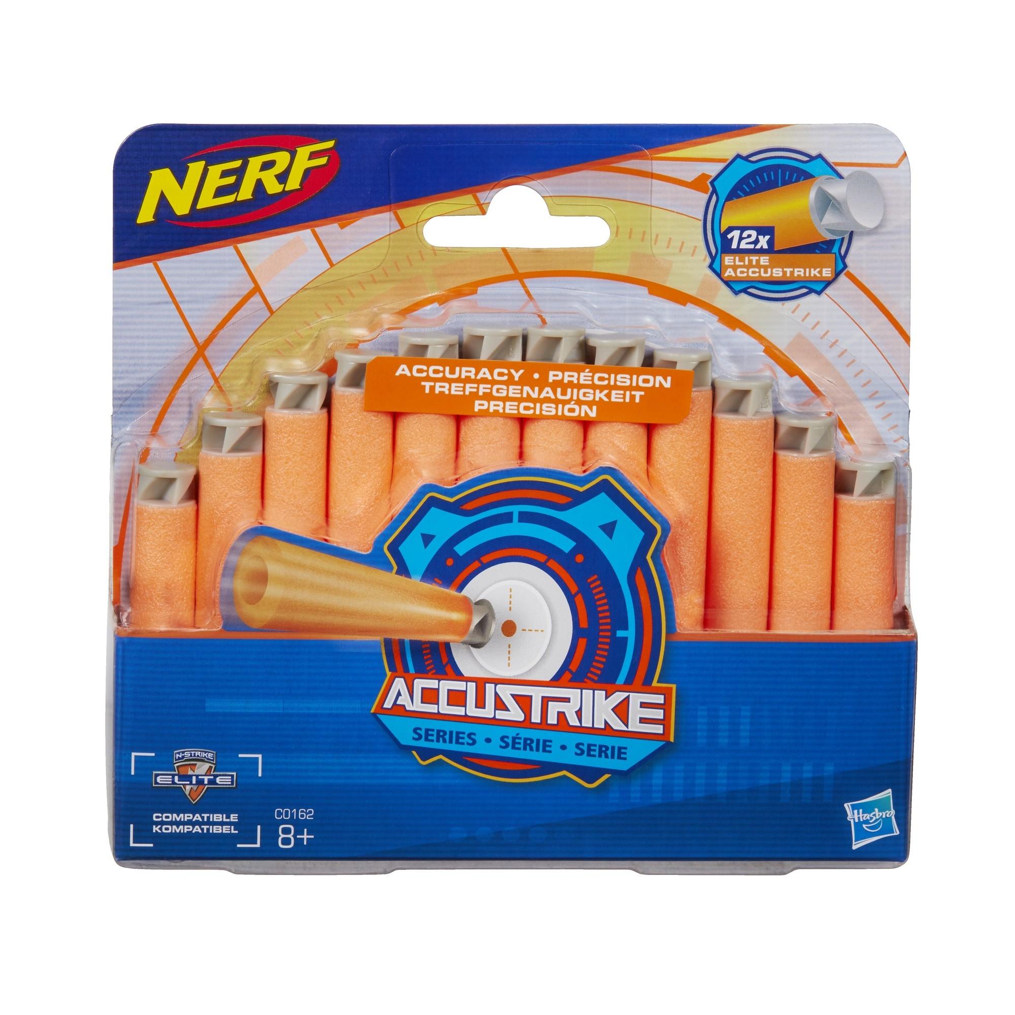 Другое оружие и боеприпасы NERF Аккустрайк C0162 набор стрел для бластеров nerf аккустрайк оранжевый