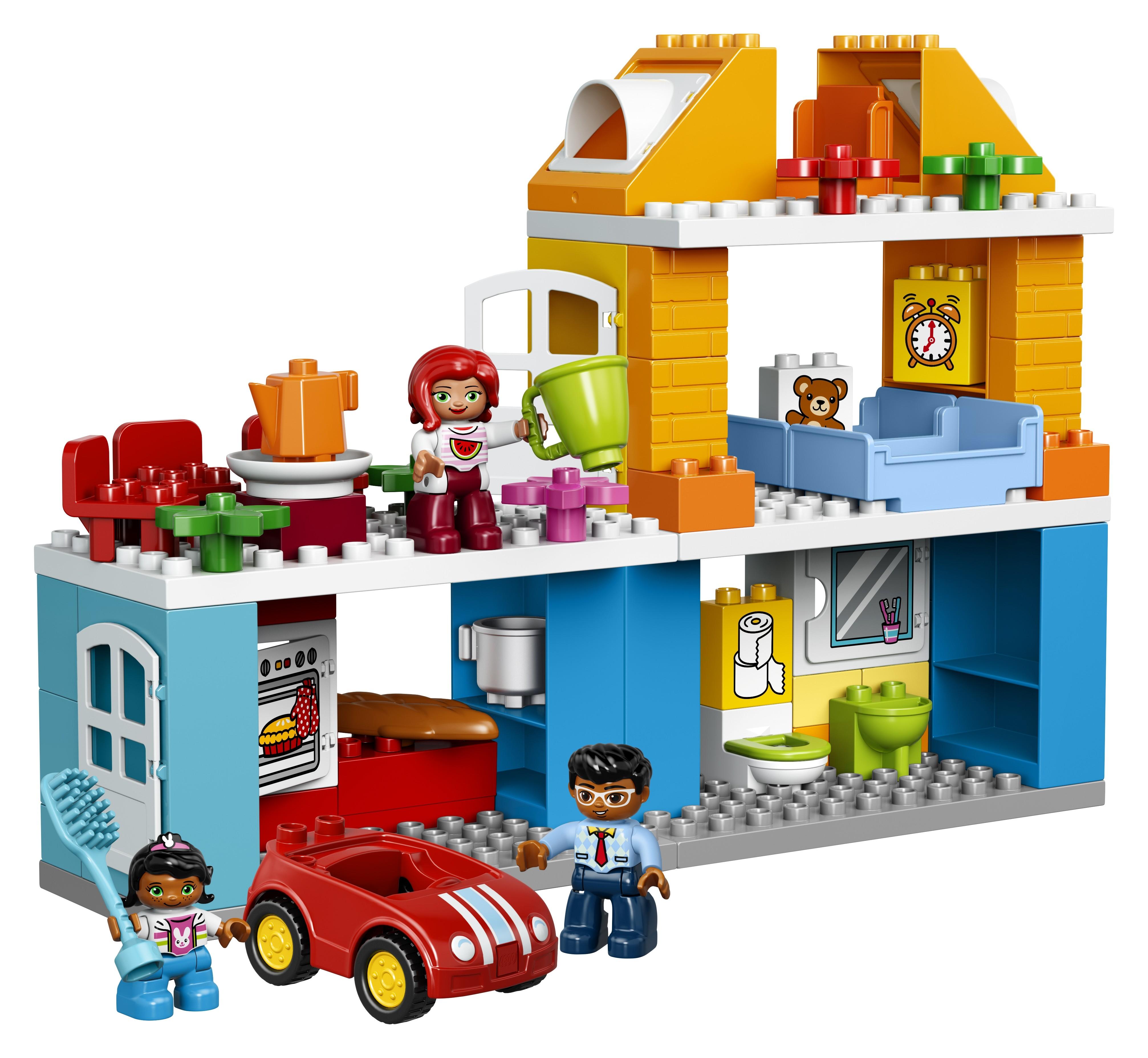 LEGO DUPLO LEGO Duplo Town 10835 Семейный дом lego duplo конструктор гоночный автомобиль 10589