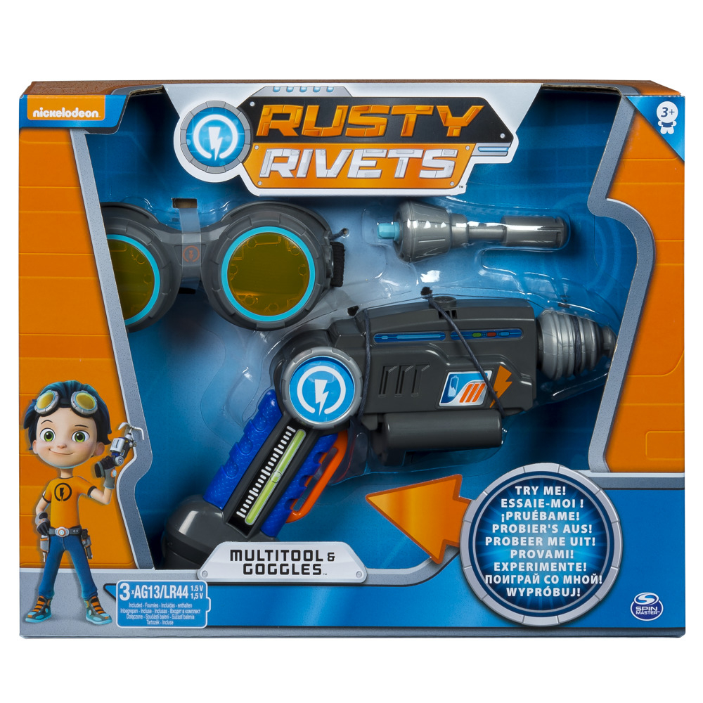 Игровой набор Rusty Rivets Супер инструмент и очки Расти инструмент