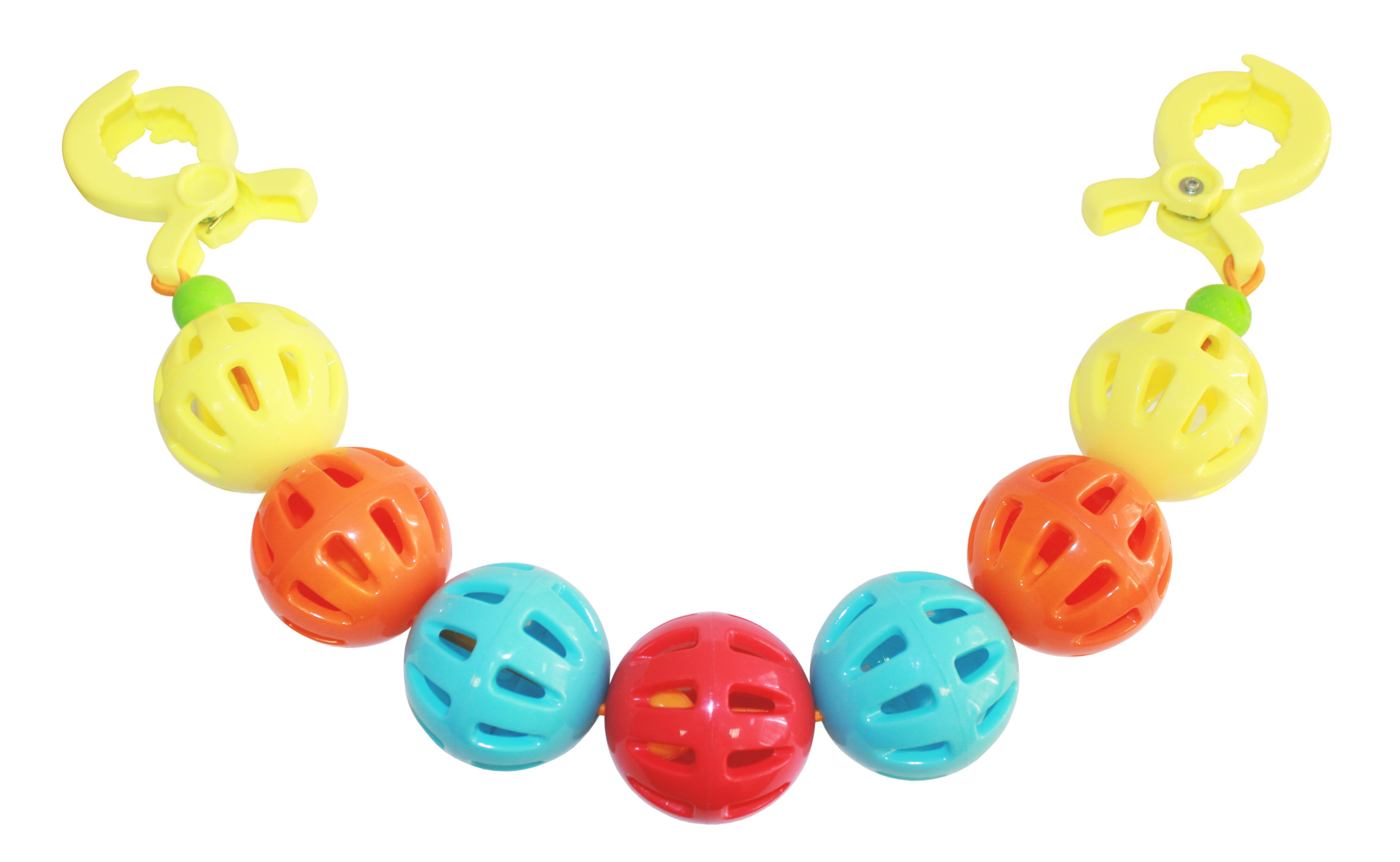 Игры и игрушки в дорогу Пластмастер Подвеска на коляску Пластмастер «Чудо-шарики» польша коляску