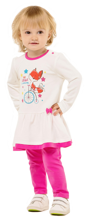 Комплект для девочки Barkito W18G1024J комплекты детской одежды goldy комплект для девочки туника и леггинсы 780 024 522