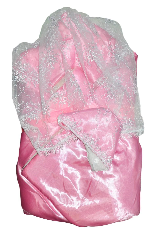 Одеяло меховое Арго Снежинка розовый