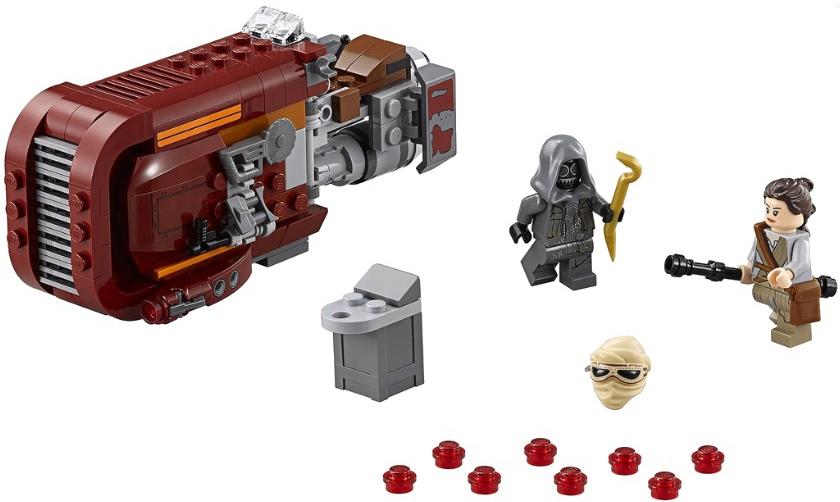 Конструктор LEGO Star Wars Спидер Рей (75099)