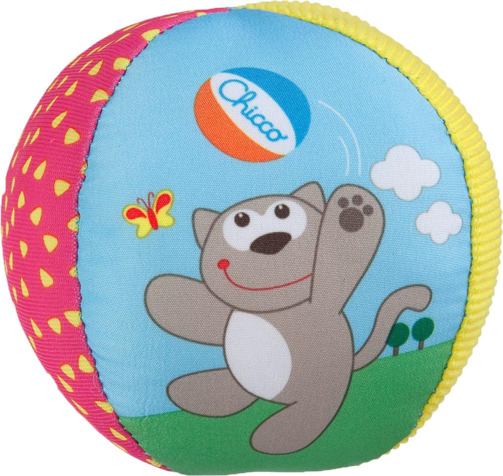 Развивающие игрушки CHICCO Мягкий мячик развивающие игрушки oball мячик на присоске