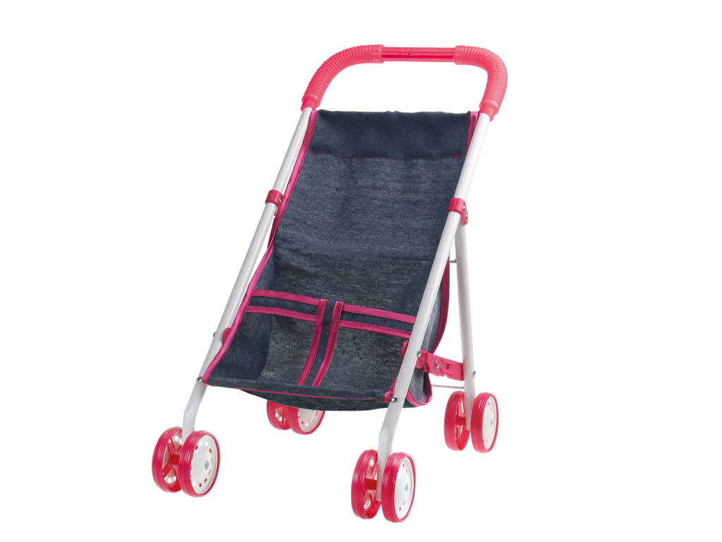 Прогулочная коляска 1toy Красотка Т10381 1toy коляска д куклы люлька пакетт58756