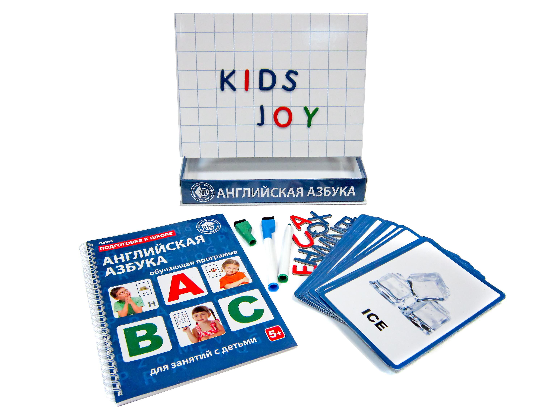 Альбомы и доски для рисования Школа будущего Английская азбука для детей