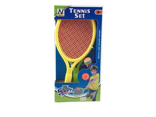 Активные игры 1toy Набор для тенниса игра 1toy сумочка furby волна т57556