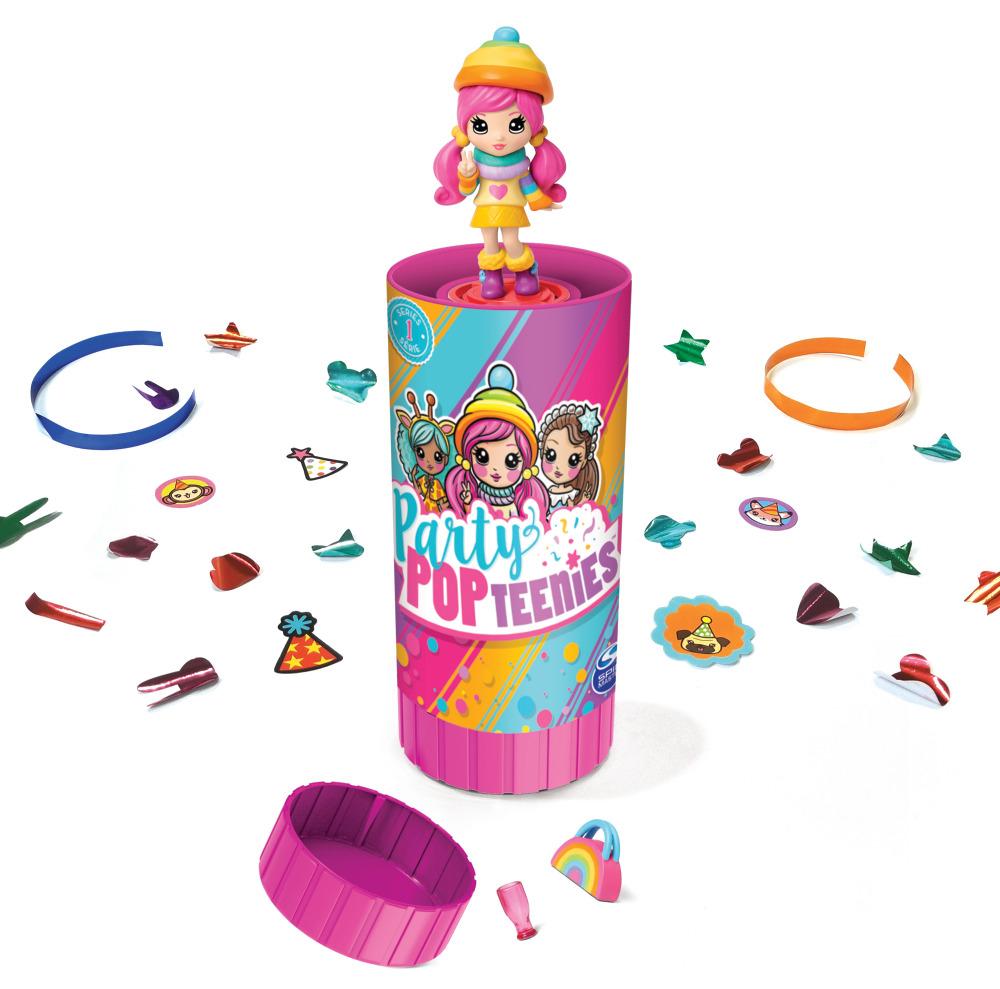 Игровой набор Party Popteenies Хлопушка-сюрприз с куклой игровой набор с куклой party popteenies хлопушка с сюрпризом