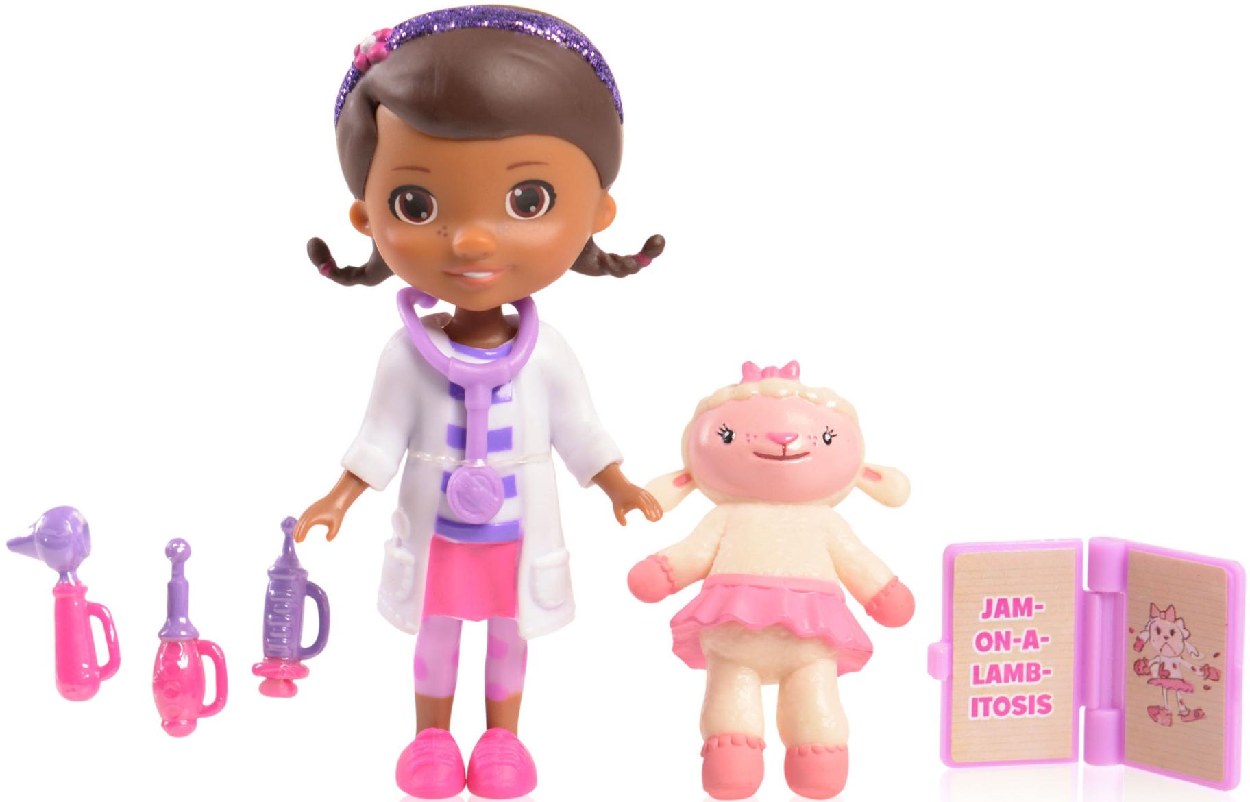 Игровые наборы Профессия Doctor Plusheva Игровой набор «Доктор Плюшева и ее друзья» в ассортименте доктор плюшева игровой набор с куклой время осмотра цвет халата сиреневый
